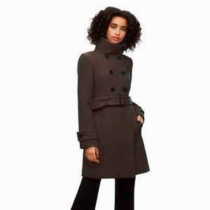 Aritzia Wilfred Bromley Wool Trench Coat  🧥